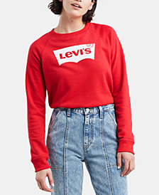 Levi's® Graphic-Print Fleece Sweatshirt