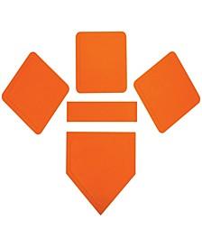 Orange Throw Down Rubber Base Set