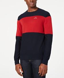 A X Armani Exchange Men's Colorblocked Sweater