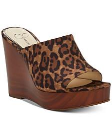 Jessica Simpson Shantelle Slide Wedge Sandals