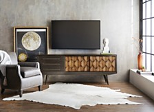 Hndery Savory 74in Entertainment Console