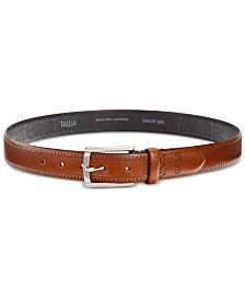 Tallia Men's Burnished Printed Dress Belt