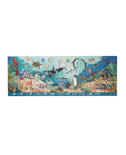 Melissa and Doug Search & Find Beneath The Waves Floor (48 Pc)