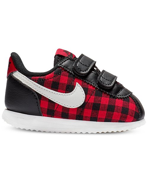 Nike Toddler Girls' Cortez Basic Textile SE Casual Sneakers from Finish Line