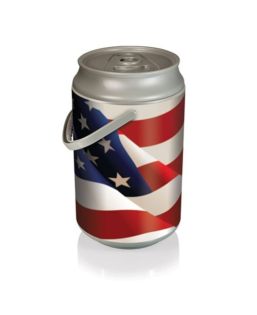 Picnic Time Oniva™ by Mega American Flag Design Can Cooler