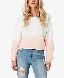 Jessica Simpson Juniors' Cotton Dip-Dyed Sweatshirt