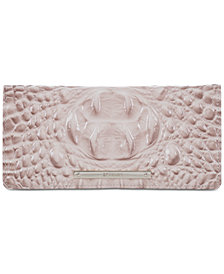 Brahmin Ady Melbourne  Embossed Leather Wallet