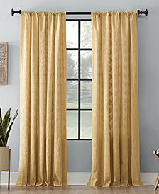 Archaeo Diamond Fray Cotton Curtain Collection