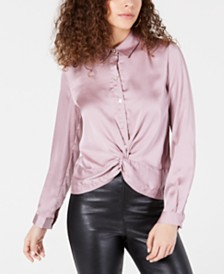 Heartloom Twist-Front Blouse
