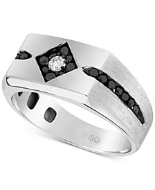 Men's Diamond Ring (5/8 ct t.w.) in 10k White Gold