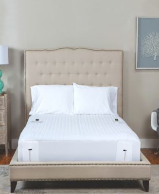 Queen Warming Mattress Pad With Two Digital Controllers