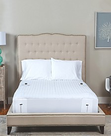 Warming Mattress Pad With Two Digital Controllers Collection