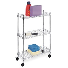 Whitmor 3-Tier Supreme Laundry Cart