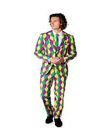 OppoSuits Men's Harleking Mardi Gras Suit