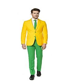 Men's Green and Gold Australian Suit