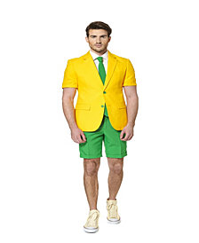 OppoSuits Green and Gold Men's Summer Suit