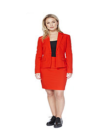 OppoSuits Red Ruby Women's Suit