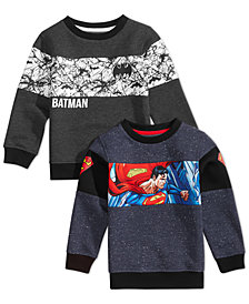 DC Comics Toddler, Little & Big Boys Licensed Sweatshirts