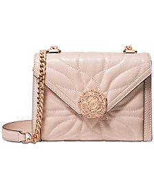 MICHAEL Michael Kors Whitney Mini Petal Quilted Leather Shoulder Bag