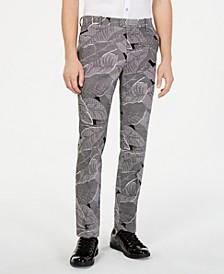 INC Men's Makani Slim-Fit Linen Pants, Created for Macy's
