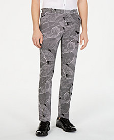 I.N.C. Men's Makani Slim-Fit Linen Pants, Created for Macy's