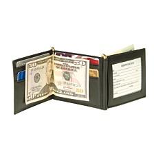 Royce New York Men'S Double Money Clip Wallet