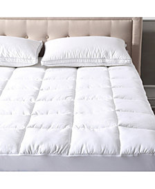 Sleep Trends Regent Waterproof Baffle Box Quilted Mattress Protector, Full