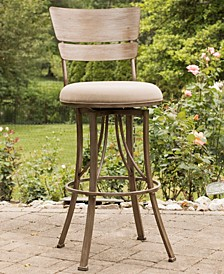 Indoor / Outdoor Wakefield Swivel Counter Stool