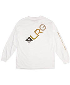 LRG Men's Multi-Slant Graphic Shirt