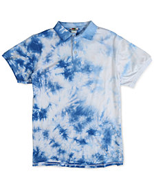 LRG Men's Kingston Regular-Fit Tie-Dyed Polo