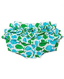 Masala Baby Baby Girl's Joli Fish Turquoise Bloomer