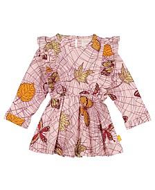 Masala Baby Organic Cotton Baby Girl's Fantasia Dress Spiderweb