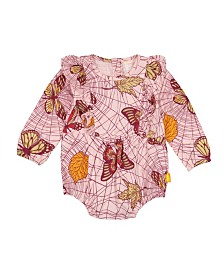 Masala Baby Baby Girl's Organic Cotton Maddy Bodysuit Jolie