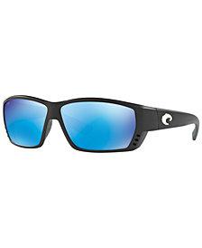 Costa Del Mar Polarized Sunglasses, CDM TUNA ALLEY 62P