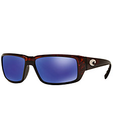 Costa Del Mar Polarized Sunglasses, FANTAIL 59P