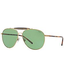 Polo Ralph Lauren Sunglasses, PH3106 60