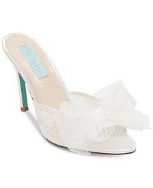 765579b93403f Blue by Betsey Johnson Bridal Shoes and Evening Shoes - Macy s