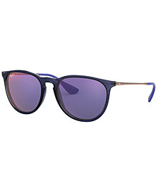 Ray-Ban Sunglasses, RB4171F 57 ERIKA (F)