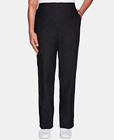 Alfred Dunner Petite Grand Boulevard Pull-On Pants