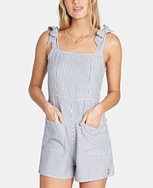Billabong Juniors' Jump Tide Tie-Strap Romper