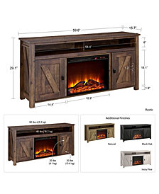 Ameriwood Home Winthrop Electric Fireplace TV Console