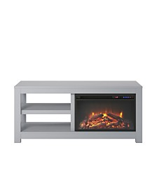 Ameriwood Home Ira Electric Fireplace Tv Stand For Tvs Up To 55 Inches