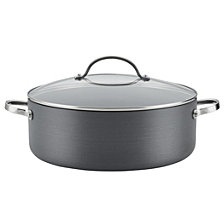 Anolon Professional Hard-Anodized Nonstick 7.5 Quart Covered Stockpot