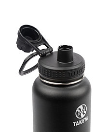 Takeya Actives 40oz Insulated Stainless Steel Water Bottle with Insulated Spout Lid