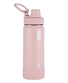 Actives 18oz Insulated Stainless Steel Water Bottle with Insulated Spout Lid