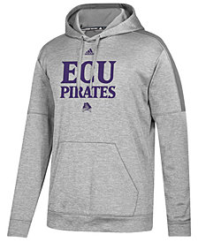 adidas Men's East Carolina Pirates Team Issue Fleece Hoodie