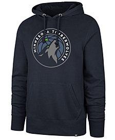 '47 Brand Men's Minnesota Timberwolves Headline Imprint Hoodie