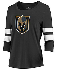 Majestic Women's Vegas Golden Knights Let Loose Raglan T-Shirt