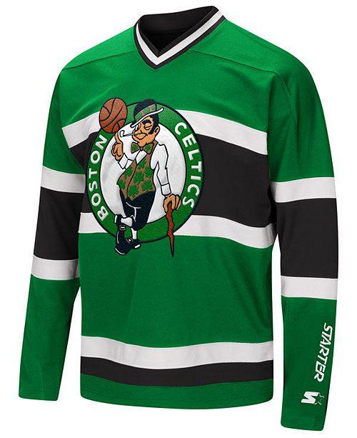 watch 64b61 17a75 Men's Boston Celtics MVP Hockey Jersey