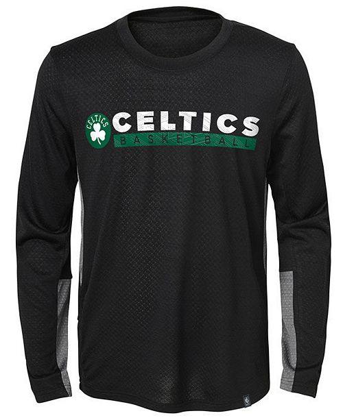 e98802e2f93 ... Jordan Boston Celtics Covert Long Sleeve T-Shirt, Little Boys (4-7 ...